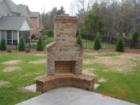 outdoor fireplaces ideas