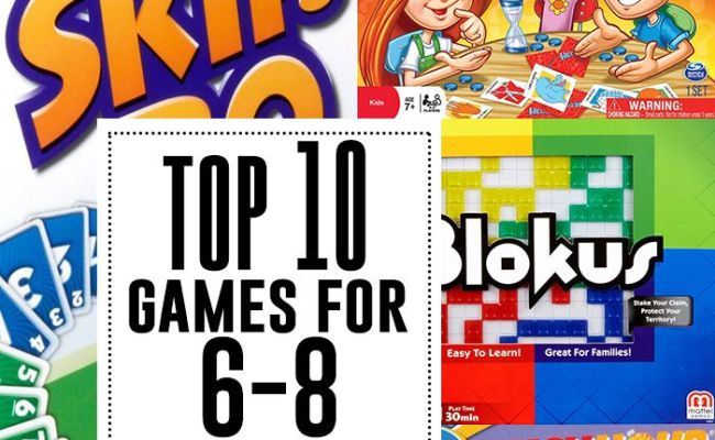 Top 10 Games For 6 8 Year Olds Diy Recipes And Tips