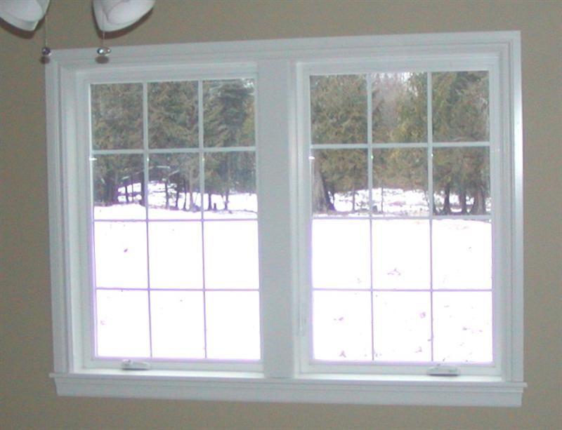 window trim with mitered corners