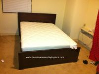 ikea brusali bed assembled in delaware by Furniture
