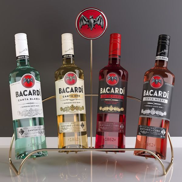 Remastering Of Project Bacadri Plv Bacardi Canadian Club Whisky And