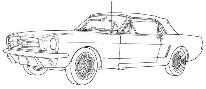 1968 Mustang Turn Signal Wiring Diagram Sketch Coloring Page