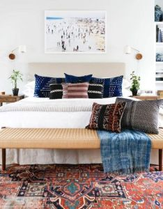 cozy bohemian style bedroom decor and design ideas also rh pinterest