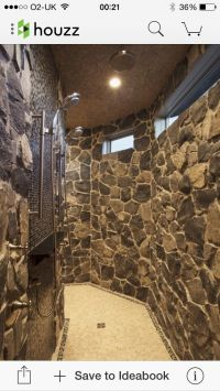 Walk through shower | Our new way of life | Pinterest ...