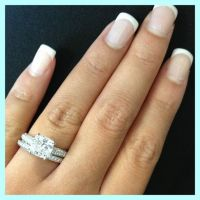 cushion cut, micro pave engagement ring micro pave wedding ...