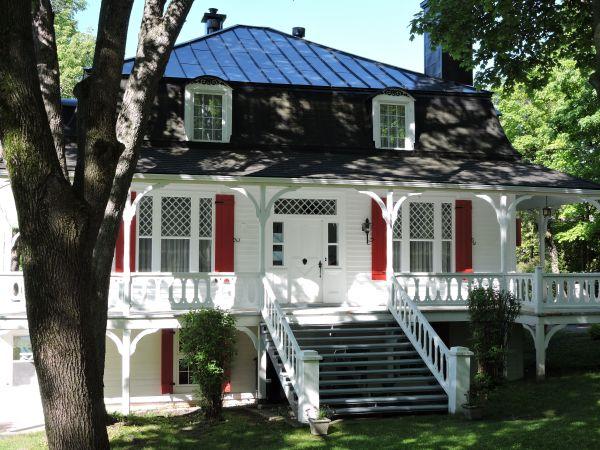 Maison Ancienne St-tronille Ile 'orlans. Mireille Plouffe Anciennes Maisons Du
