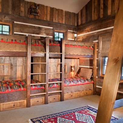 Rustic Bunk House Design Ideas Pictures Remodel And Decor