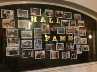 Hall of Fame photos- Party wall | Birthday | Pinterest ...