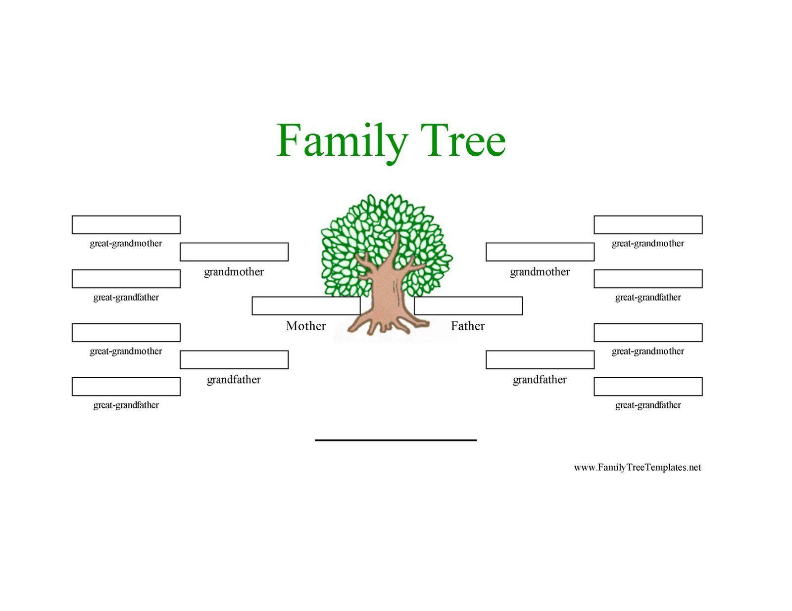12 Generation Family Tree Sample