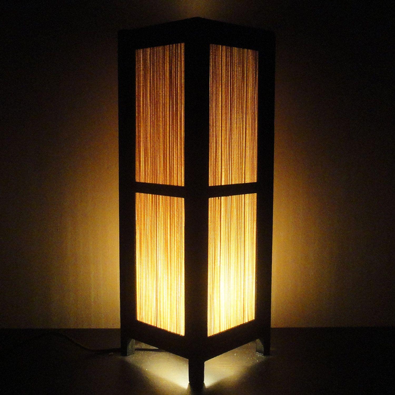 15'' Tall Asian Oriental Japanese Bamboo Zen Art Bedside Floor