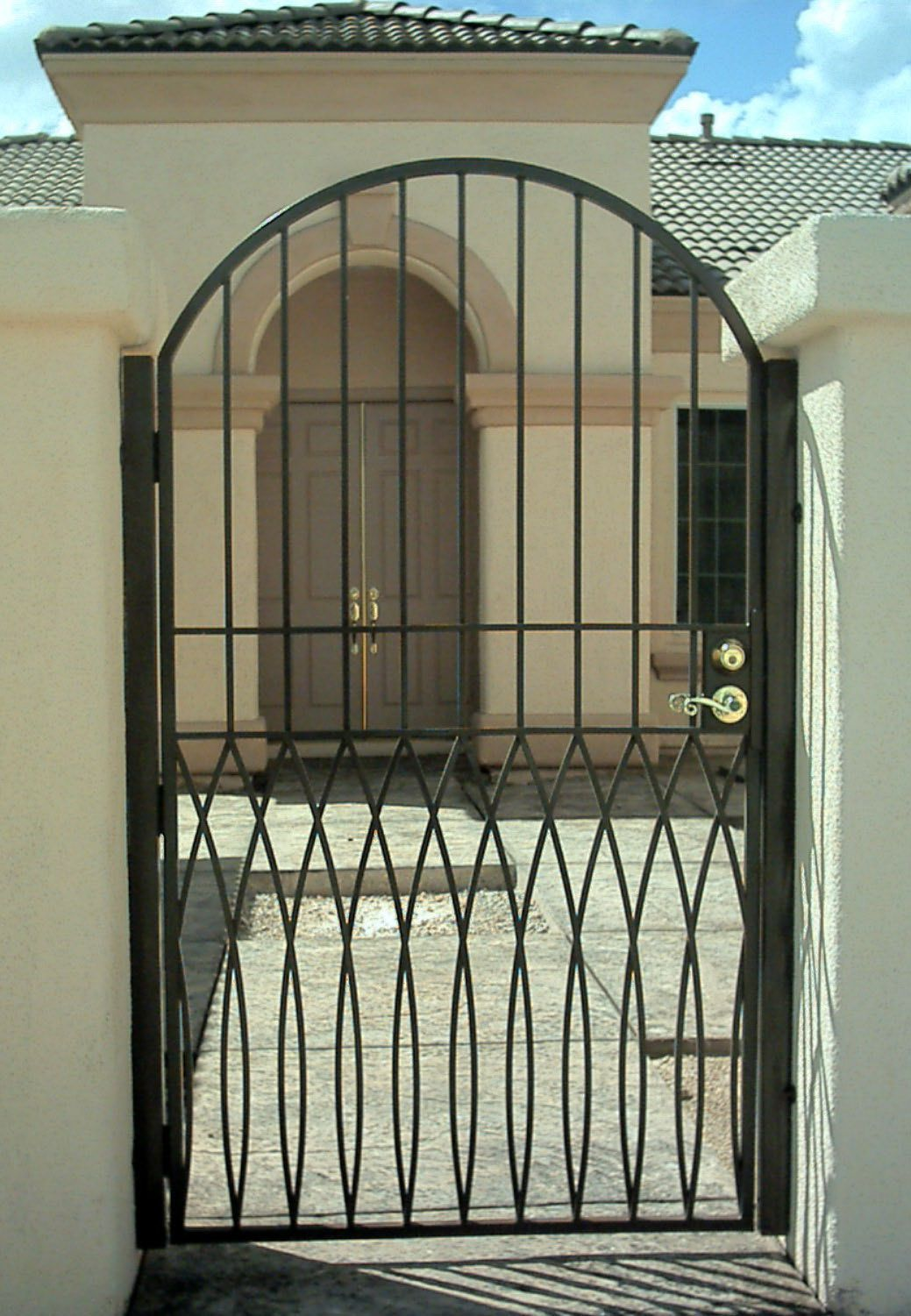 Modern Homes Iron Main Entrance Gate Designs Ideas Amazing Gate