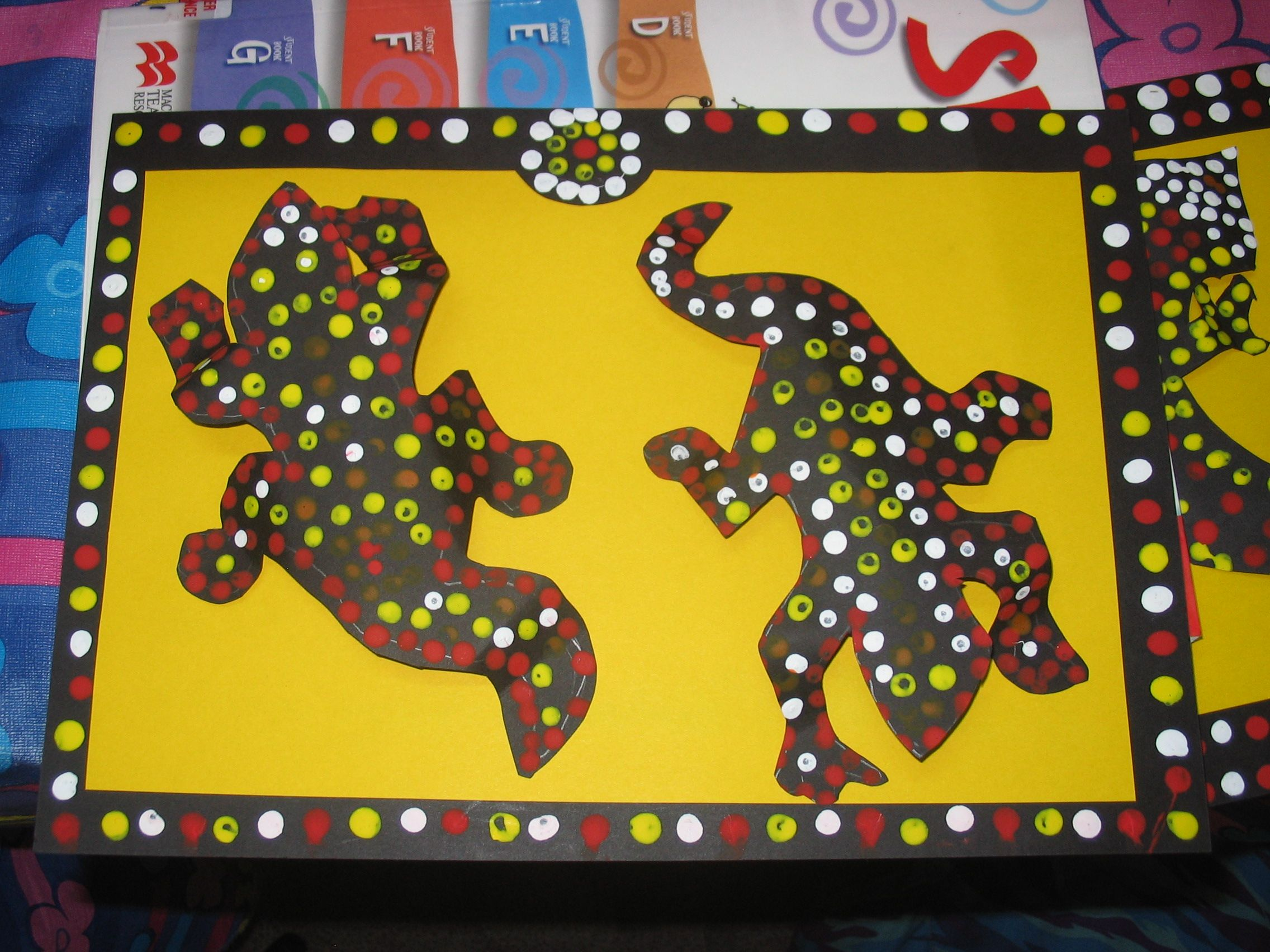Aboriginal Dot Art
