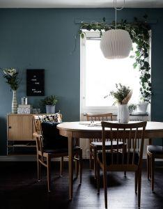 House also jolie association de couleurs ambiance bleue beige dining rh pinterest