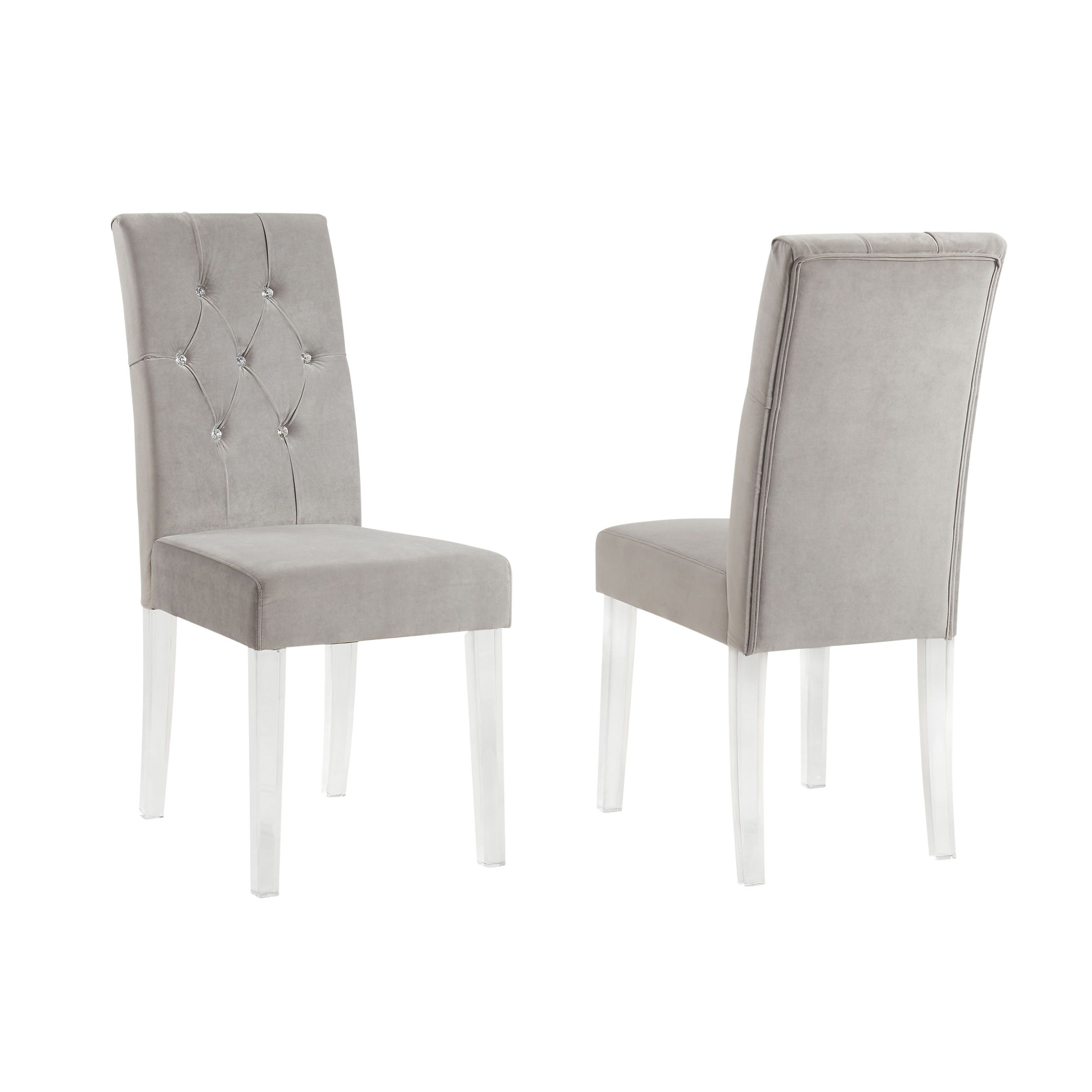 acrylic chair legs wide directors cavalli crystal studded velvet dining chairs with