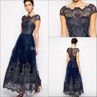 Popular Navy Blue Mother of The Bride Dresses-Buy Cheap ...