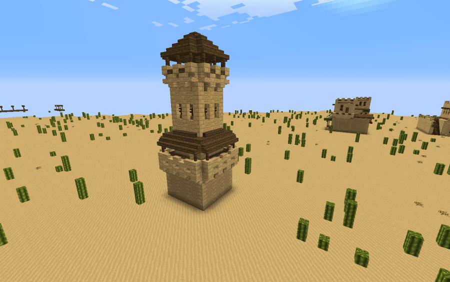 Minecraft Lighthouse Blueprint