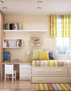 Awesome small room design ideas  nbsp red home office also rh pinterest