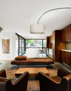 Brown theme contemporary living roomscontemporary furniturearchitecture interior also room pinterest rh