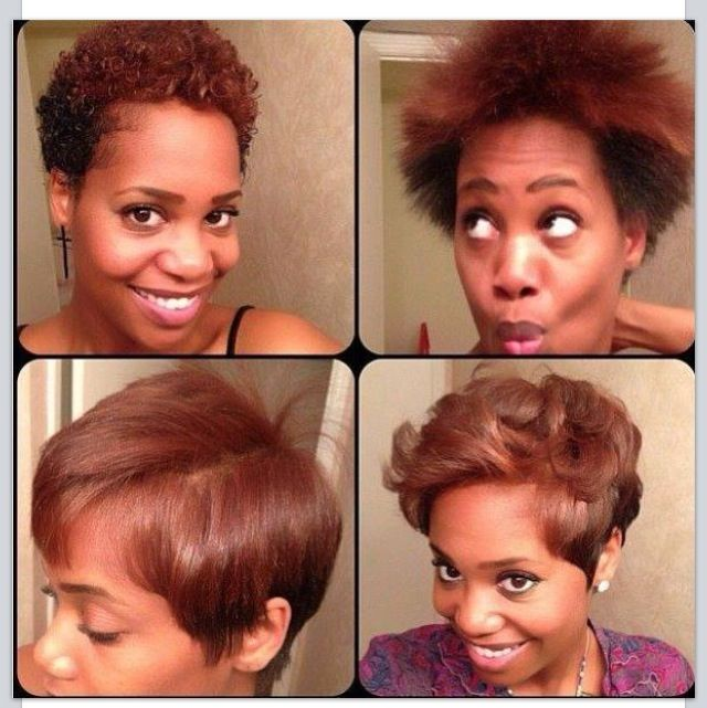 Fun Short And Natural Hair Styles Curly Or Straight Hair