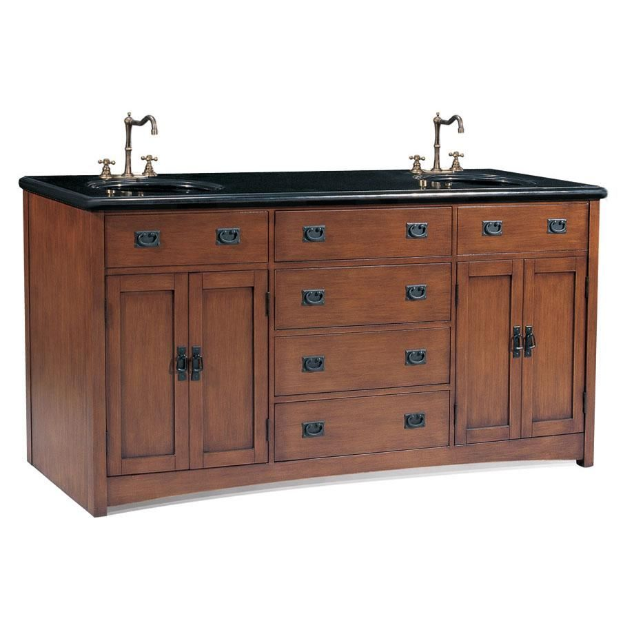 Legion Furniture P543303A Double Sink Chest Bathroom