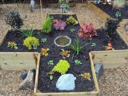 New School Sensory Garden And Prayer Garden Garden Ideas