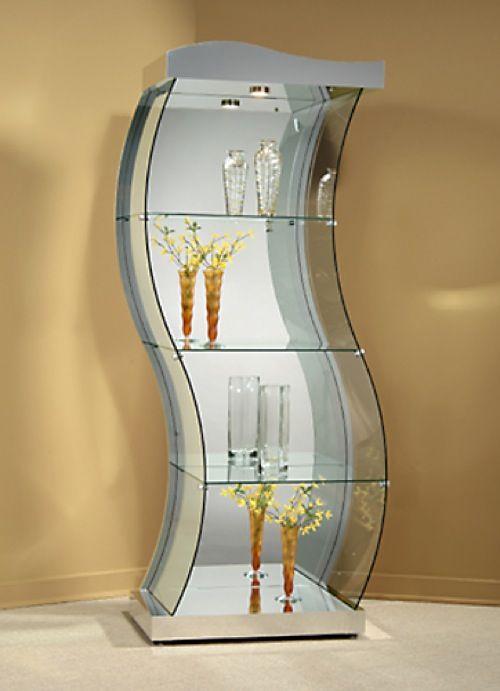 On Display: 10 Sleek Curio Cabinet Designs