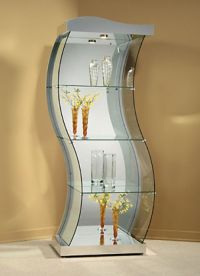 On Display: 10 Sleek Curio Cabinet Designs | For the home ...
