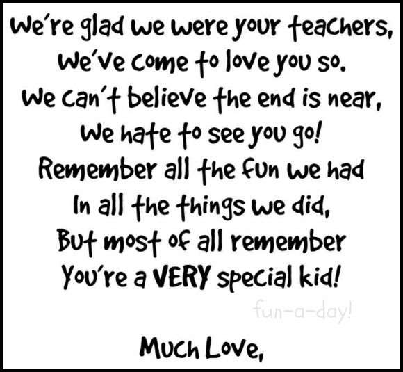 Quotes For The End Of The Year Preschool. QuotesGram