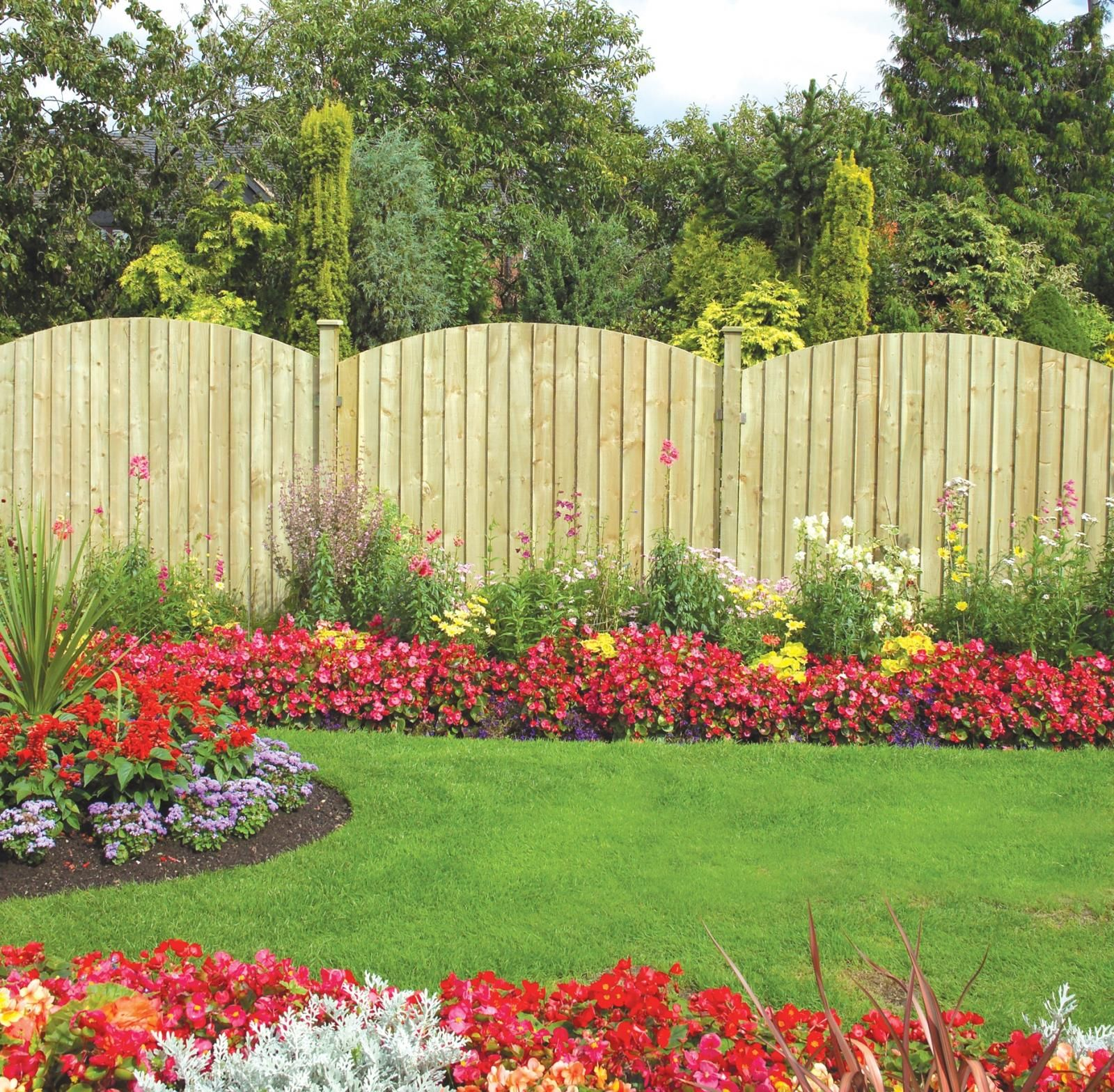 Garden Fence Ideas Fence Garden Ideas Garden Fencing Garden