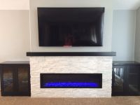 Linear Fireplace Remodel | For the Home | Pinterest ...