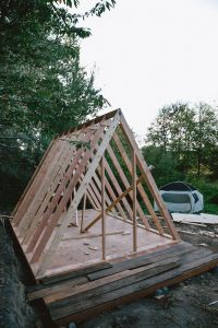 UO Journal: How to Build an A-Frame Cabin | Designed ...
