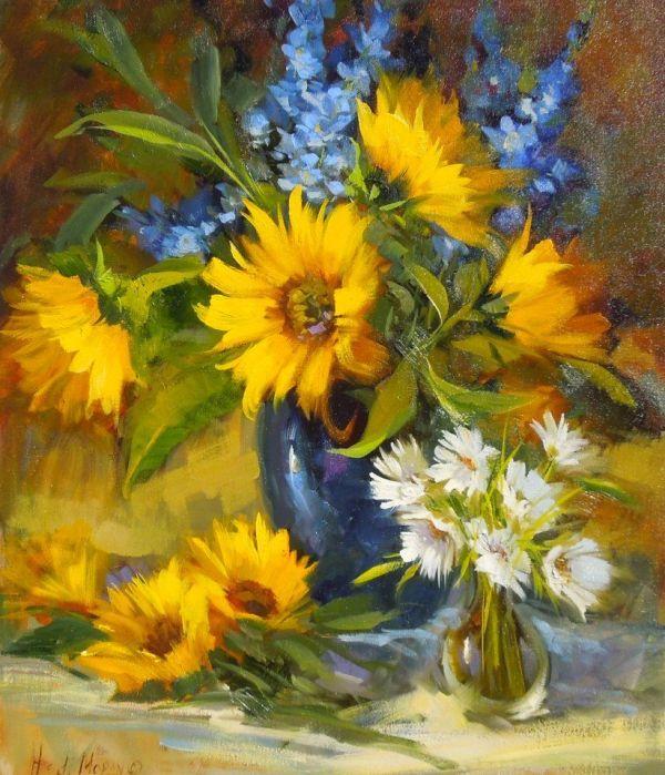 Hedi Moran Life Art - Floral Fine