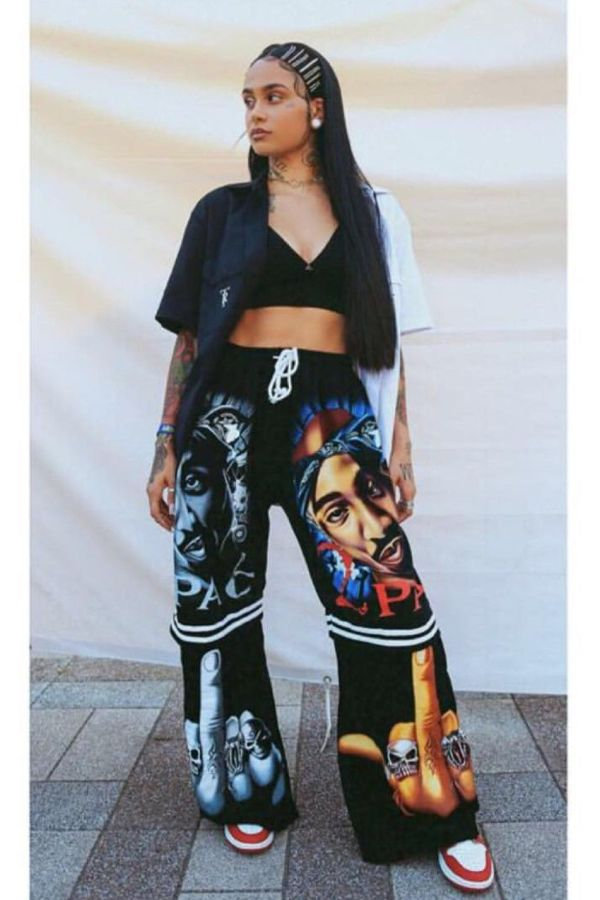 Kehlani Outfits - August 2017 Parrish