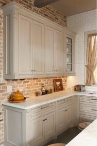 Best 25+ Faux brick backsplash ideas on Pinterest | White ...