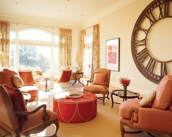 Room also red brown colors decorating ideas for fall autumn interiors rh pinterest