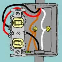 Double Light Switch Wiring On Wiring A Double Light Switch Diagram