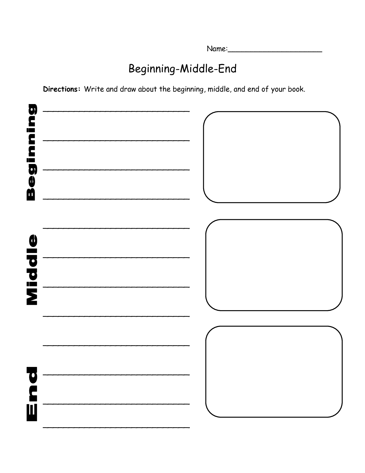 Graphic Organizers For Reading Comprehension Beginning