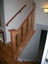 Staircase Railing Ideas | Handmade Stair Railing by Dunbar ...