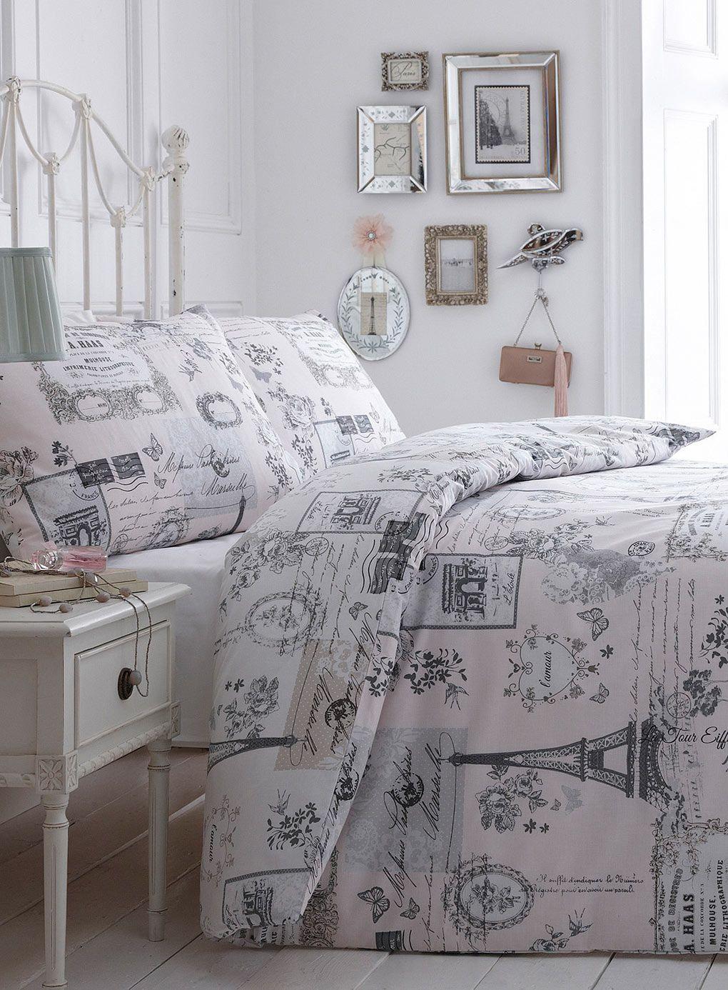 paris themed comforters