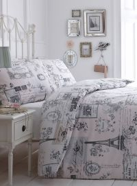 paris themed comforters | Sketchy Paris Bedding Set | baby ...