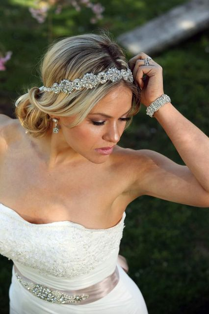Crystal Headband On Pinterest Rhinestone Headband