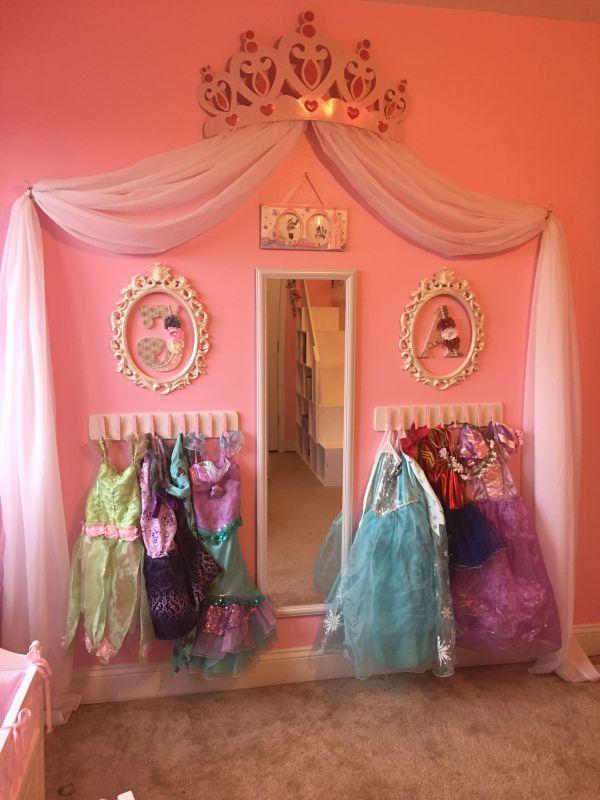 Princess Dress Storage Diy. Cheap And Super Easy Frees