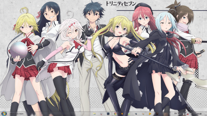 Image result for Trinity Seven