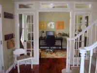 Great idea, turned unused dining room into beautiful home ...