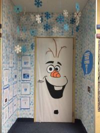 Olaf classroom door, Frozen, door decorating contest ...