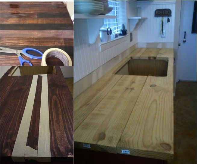 Best Place To Buy Butcher Block Countertops How To Refinish Your Kitchen Counter Tops For Only $30
