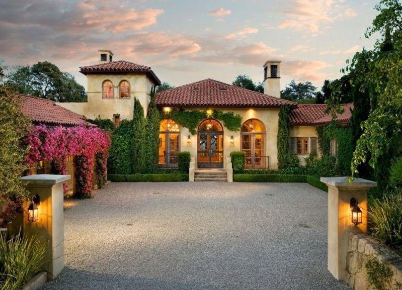 Spanish Mediterranean Homes Interior Design Art Home Design