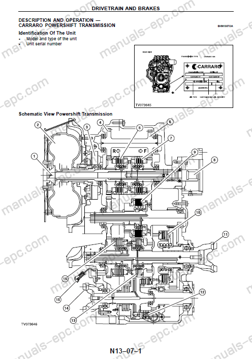 Fermec Terex Workshop Service Manual Repair For 820 860