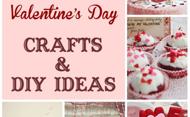 101 Valentine S Day Crafts And Diy Ideas Things I Like