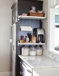 sneaky ways to instantly gain extra counter space also coffee maker rh pinterest